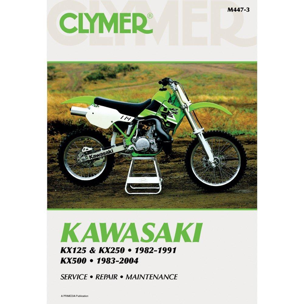 Amazon.com: The Amazing Quality Clymer Kawasaki KX125 & KX250 (1982-1991) &  KX500 (1983-2004): Office Products