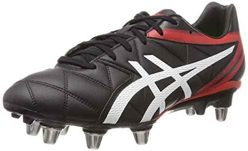 Asics Mens Lethal Scrum Football Boots Multicolour Black/White/Vermilion