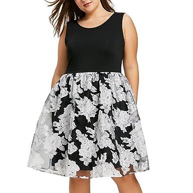 7de68b2c5b Hotkey® Clearance Women Dresses On Sale Plus Size Cocktail Party Evening  Mini Dress Beach Sundress
