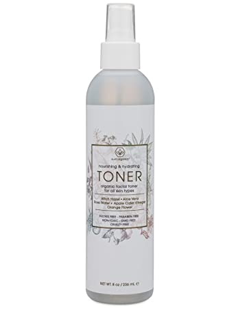 Organic facial mist for