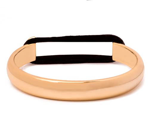 Ashley Bridget Bangle Cuff Bracelet - Elegant Fahsion Jewelry Includes Hair  Tie Elastic   Gift Box a9c40ea20af