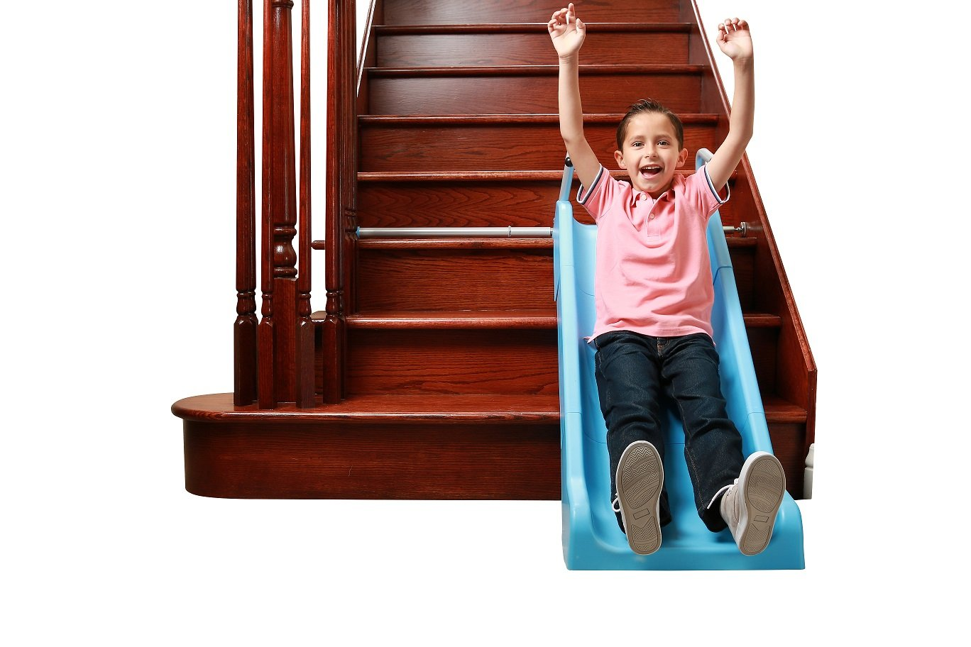 Indoor Stair Slide Toy playset Toys – Kids/Toddler/Boys/Girls Safe Playground Children on Stairs – Parents/Grandparents Gifts to Your Precious Ones