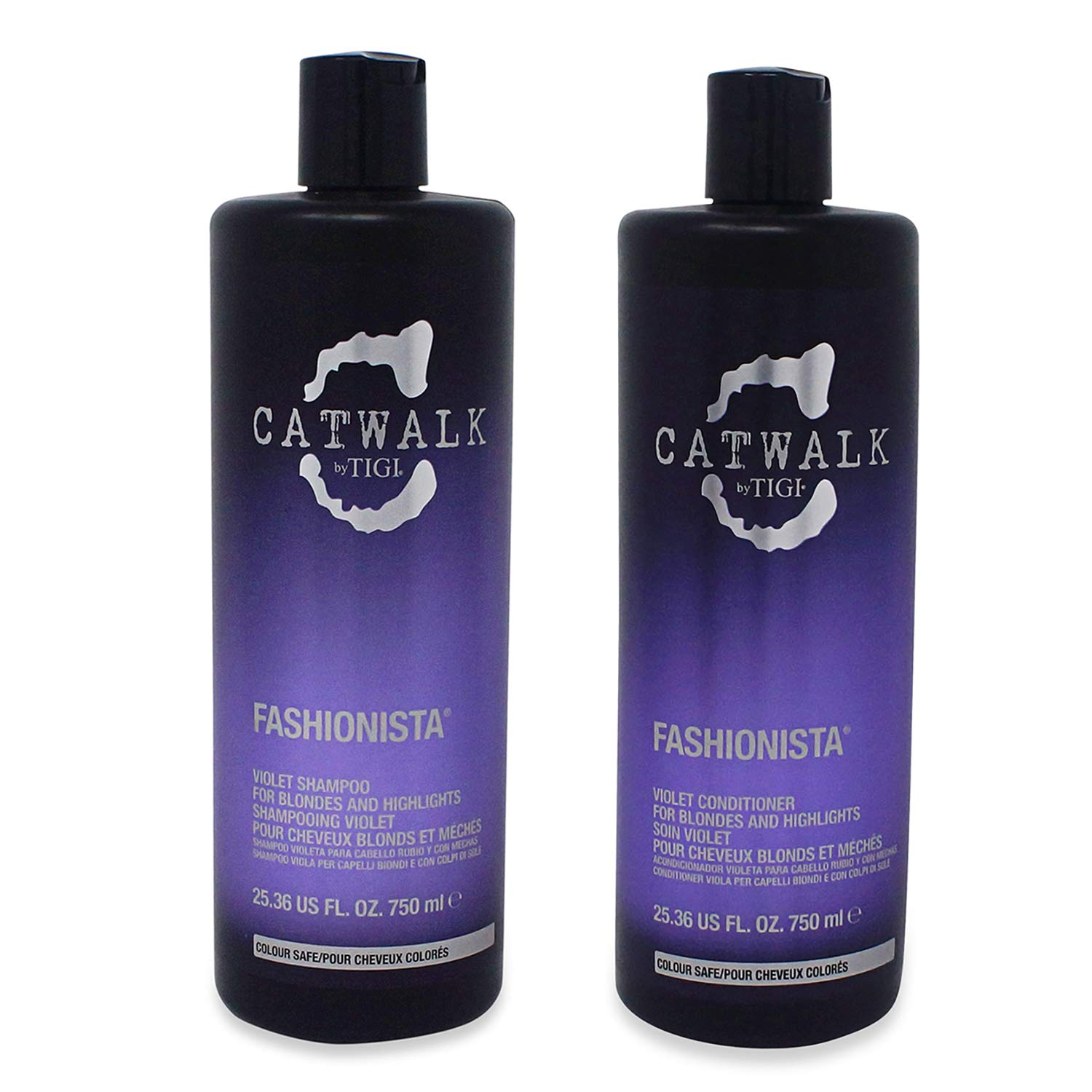 Fashionista by TIGI Catwalk Fashionista Blonde Tween Set - Shampoo 750ml & Conditioner 750ml