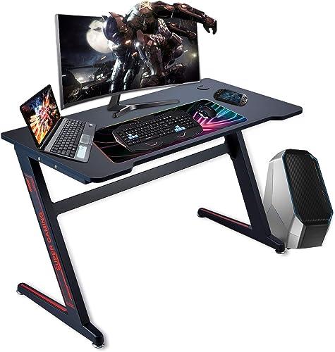 Reviewed: FERGHANA Gaming Desk Z-Shape Large Size 47.2 inch