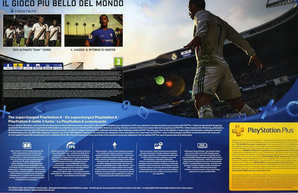 PlayStation 4 PRO + FIFA18 [Bundle] [Importación italiana]: Amazon ...