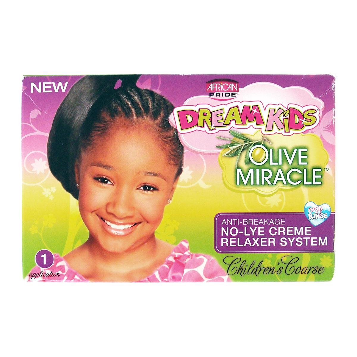 African Pride Dream Kids Olive Miracle Relaxer Coarse B006B6L60A