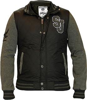 bf138db94 Mens Parka Jacket by Smith & Jones 'Andorra' (Navy) L: Amazon.co.uk ...