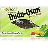 Dudu Osun Raw Organic Soap for Acne, Dry Skin, Rashes, Burns, Scar Removal, Face & Body Wash