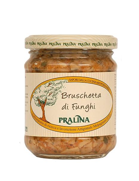 Pralina - Bruschetta con champiñones 180 gr