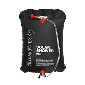 Superior KingCamp Portable Outdoor Solar Shower Bag 20 Litre/5.28 Gallon Images