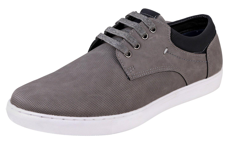 Urban Fox Men's Marcel Casual Oxford Sneakers   Sport Oxford   Mens Fashion Sneakers   Grey 11