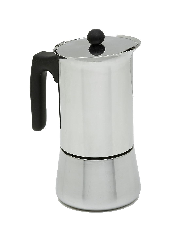 ALZA Cafetera Exprés Acero Inox 6 Tazas: Amazon.es: Hogar