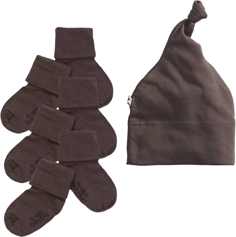 Babysoy Eco gorro y calcetines Set