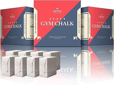 Gimnasia Chalk bloques para levantamiento de pesas, escalada de roca, crossfit y gimnasia 99% puro