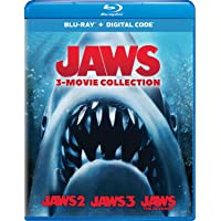 Jaws 3-Movie Collection Blu-ray + Digital