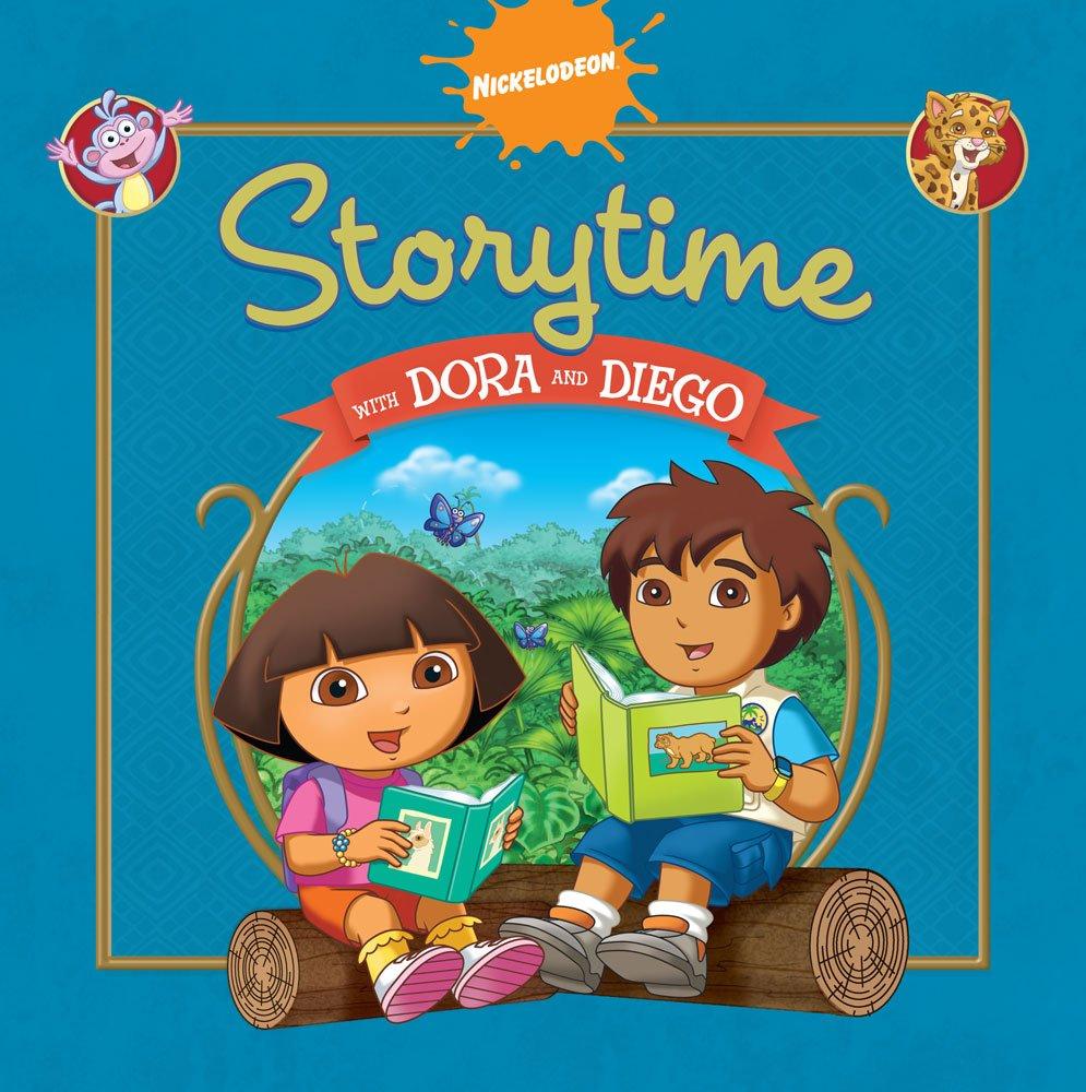 Download Storytime with Dora and Diego (Dora The Explorer and Go, Diego, Go!) pdf epub