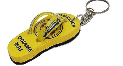 Amazon.com : Aguilas del America Soccer Mexico Key Chain ...