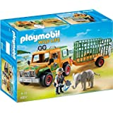 Playmobil 6937 Wildlife Ranger's Truck with Elephant