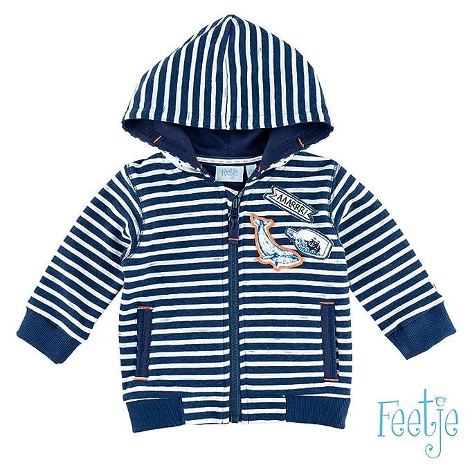 Feetje - Chaqueta Deportiva - para bebé niño Azul 74 cm: Amazon.es: Ropa y accesorios
