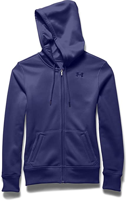 Amazon.com  Under Armour Women s Storm Armour Fleece Big Logo Full ... 84c88a1839