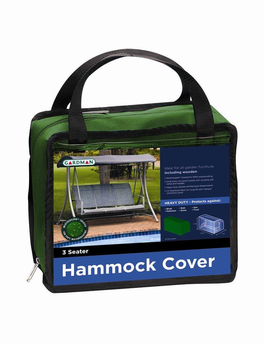 Gardman 3 Seater Hammock Premium Heavy Duty Cover