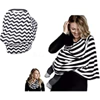 Dolson Nursing Cover for baby Breastfeeding - Multi purpose Stretchable Infinity Nursing cover for Car Seat Canopy…
