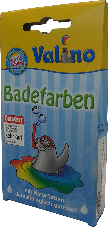 1 x 10 St/ück Valino Badefarben blau