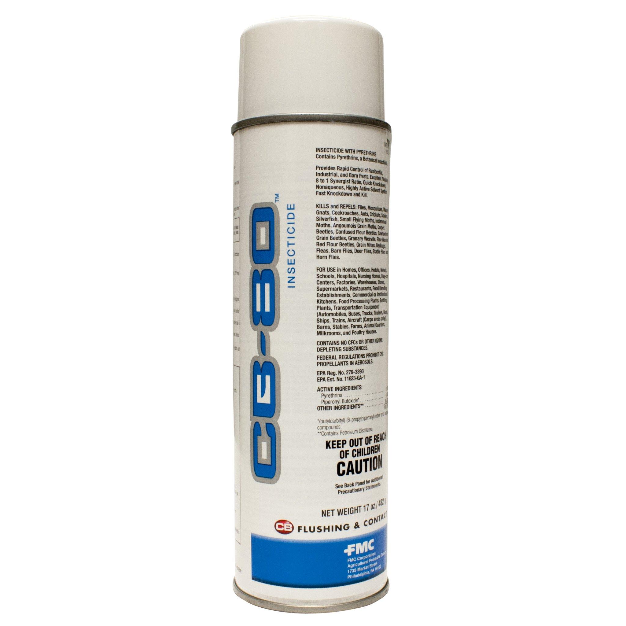 CB-80 AEROSOL .5%PY FULL CASE OF 12, 17OZ CANS