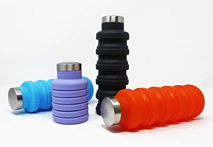 Outdoor Travel Retractable Folding Telescopic Collapsible Folding Water Bottle