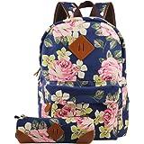 Imiflow Girls School Backpack Travel Rucksack Book Bags Casual Daypacks