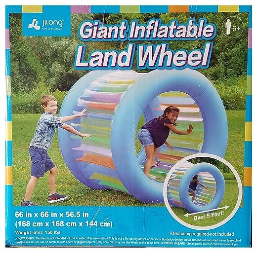 Amazon.com: Espera que la rueda de tierra sea más hinchable ...