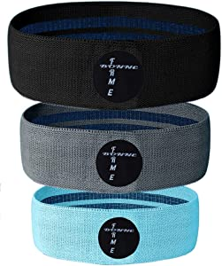 Workout Bands Resistance for Women, 3 Levels Exercise Bands, Elastic Bands for Exercise/Bandas Elasticas Fitness De Resistencia, Flexible Booty Band Make The Perfect Workout Bands for Women