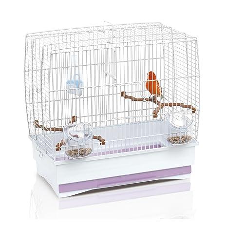 Imac Irene 2 blanco jaula de pájaros - completo: Amazon.es ...