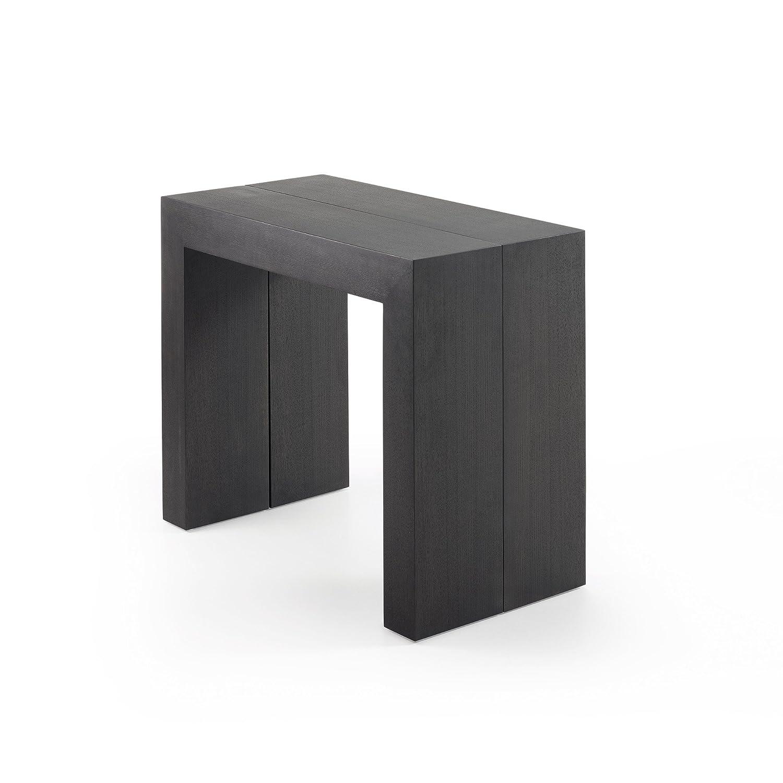 Kavehome Aden ausziehbarer Tisch, grau