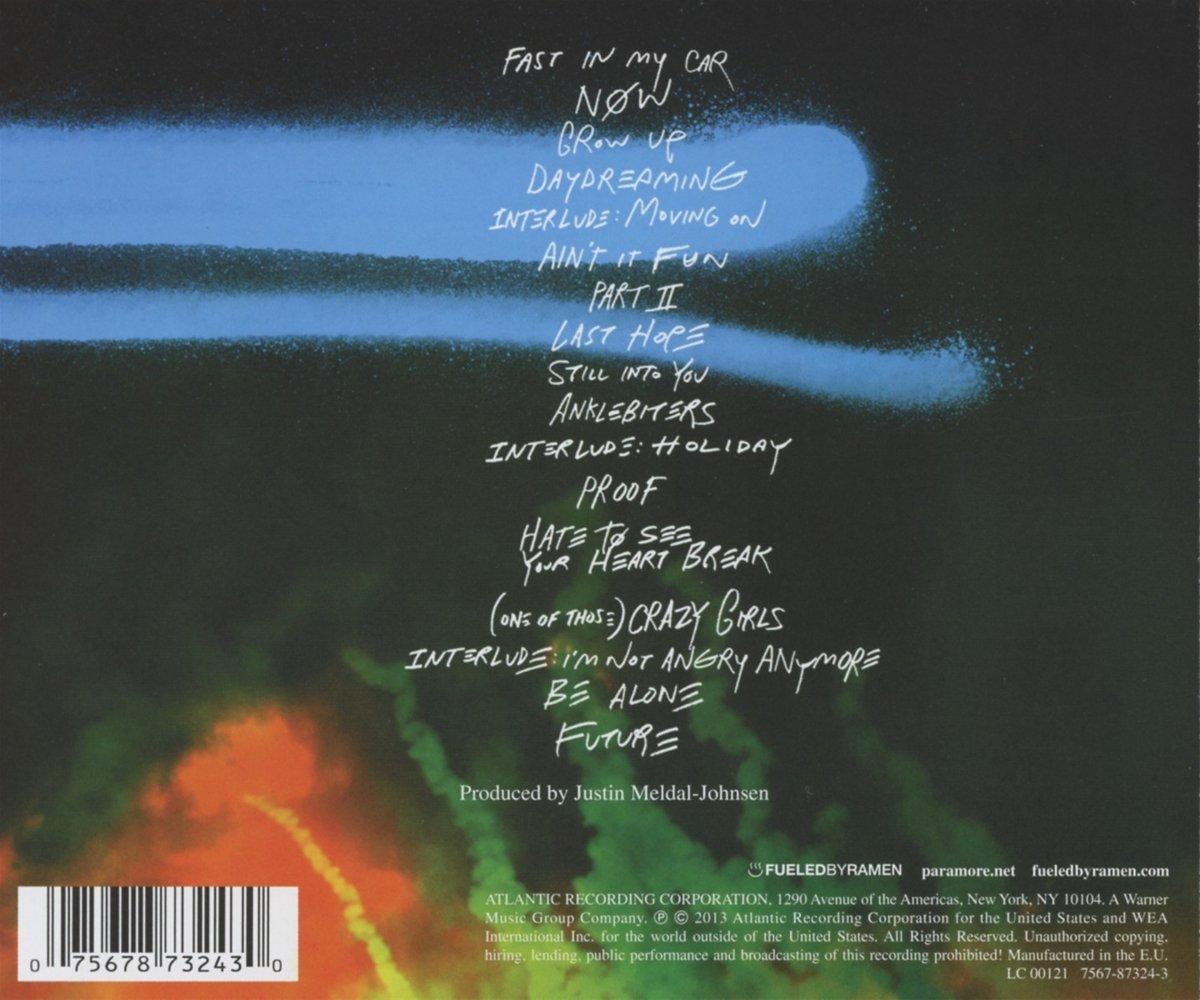 2013 BAIXAR PARAMORE NOVO CD