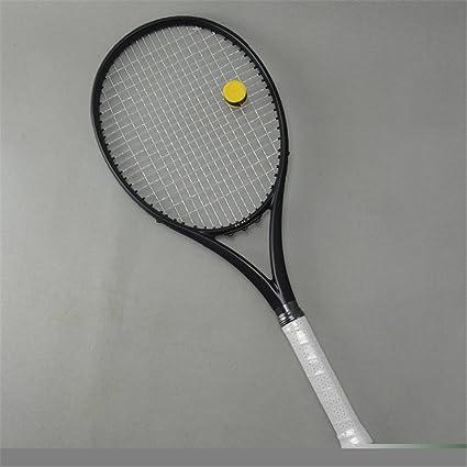 Amazon Com Taiwanrns Black Apd Nadal Tennis Racket 300g 16x19 100 Carbon Black Tennis Racquets With String Bag Grip Size L2 L3 L4 L2 No Stringing Sports Outdoors
