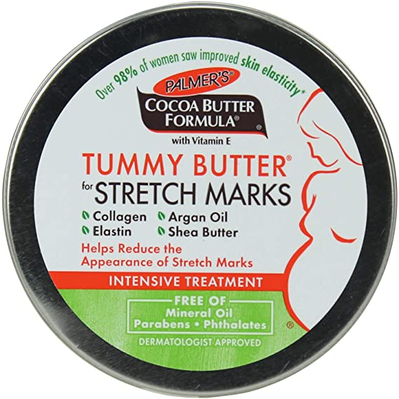 Palmers Cocoa Butter Tummy Butter 4.4 oz. Jar # 4076 at amazon