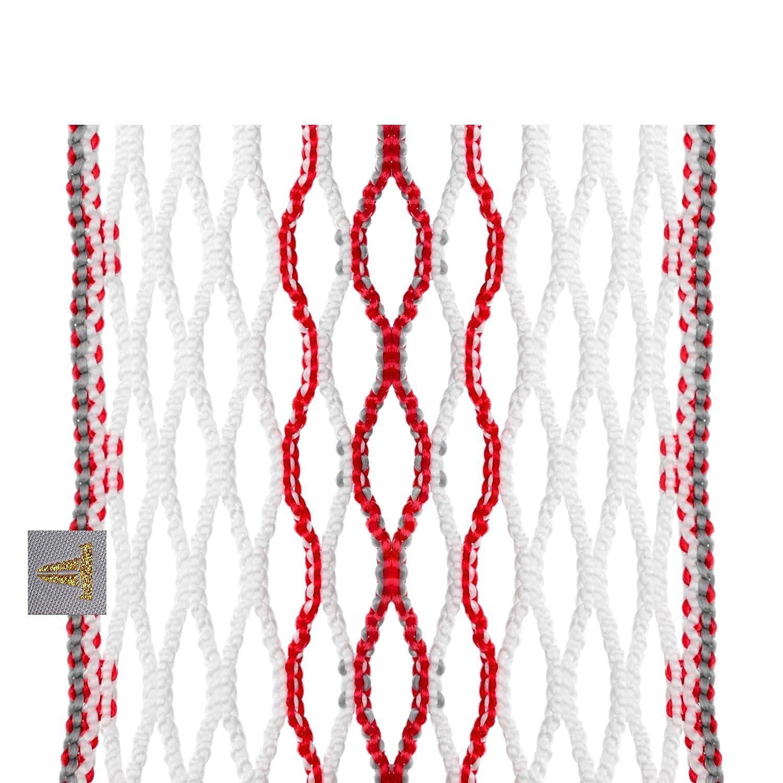 Throne Lacrosse Fiber 2 Mesh Lacrosse Semi-Soft Mesh Onyx