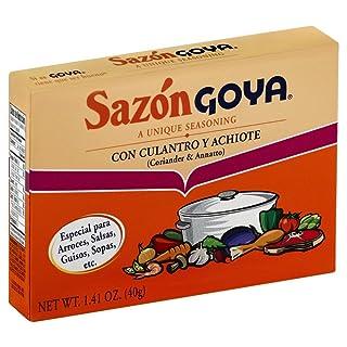 Goya Sazon Culantro/Achiote 8.0 PC(Pack of 2)
