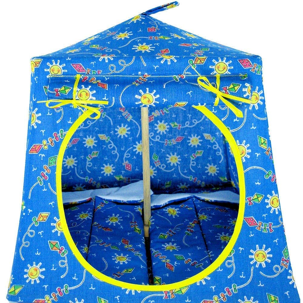 Amazon Com Toy Pop Up Play Fabric House 2 Sleeping Bags Light