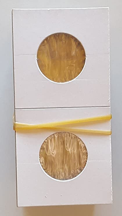 16 Cardboard 2x2 Coin Holder Mylar Flips for Nickels