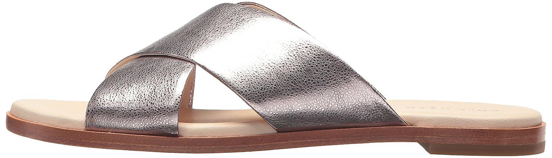 Cole Haan Women's Anica Criss Cross B(M) Slide Sandal B06ZZQMXFK 6.5 B(M) Cross US|Pink Glitter 97f3c3