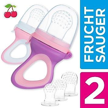 Endureal Fruchtsauger|3 Fruchtsauger für Baby /& Kleinkind|Baby Fruchtsauger