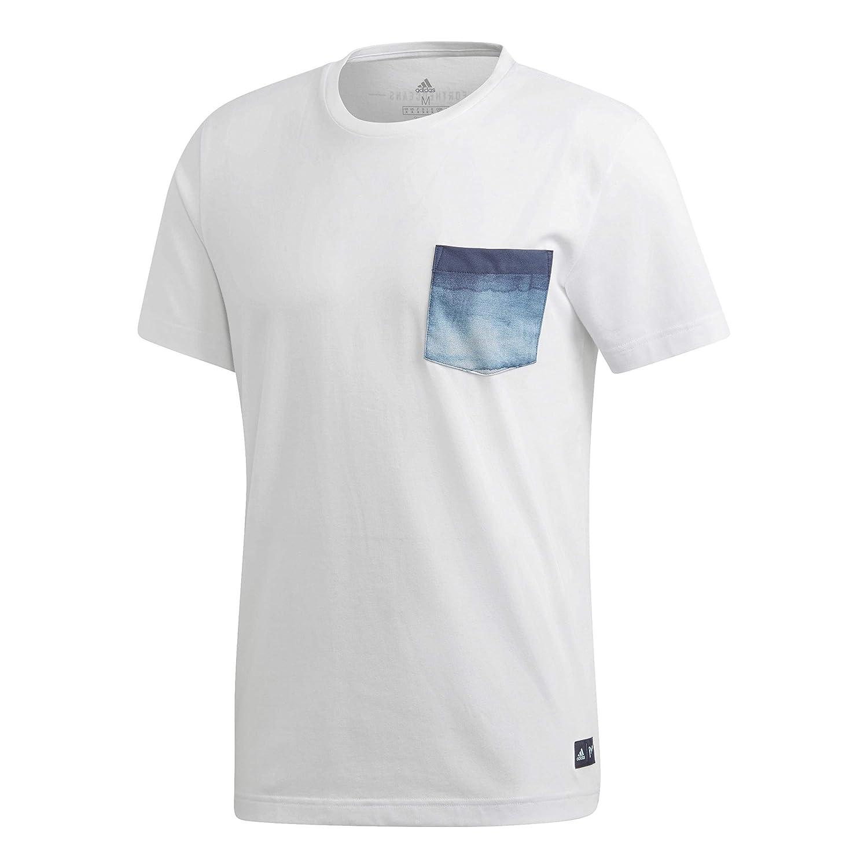 Adidas Parley Pocket T Camiseta, Hombre: Amazon.es: Deportes y aire libre