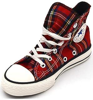 Zapatillas Converse All Star Tartán Ska Chuck Taylor rojo