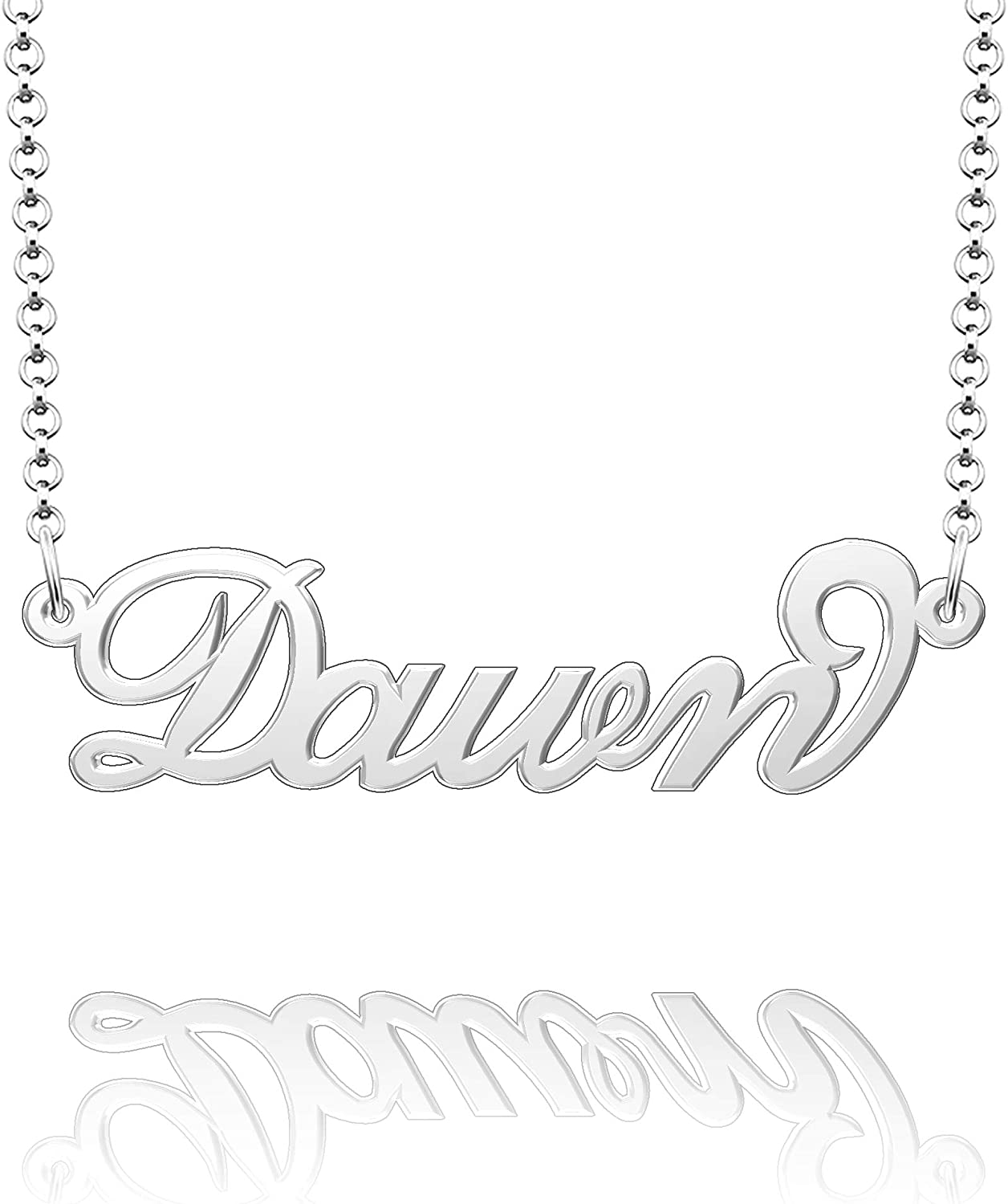 Moonlight Collections Dawn Custom Necklace Personalized Gift for Women Handmade Chain Pendant