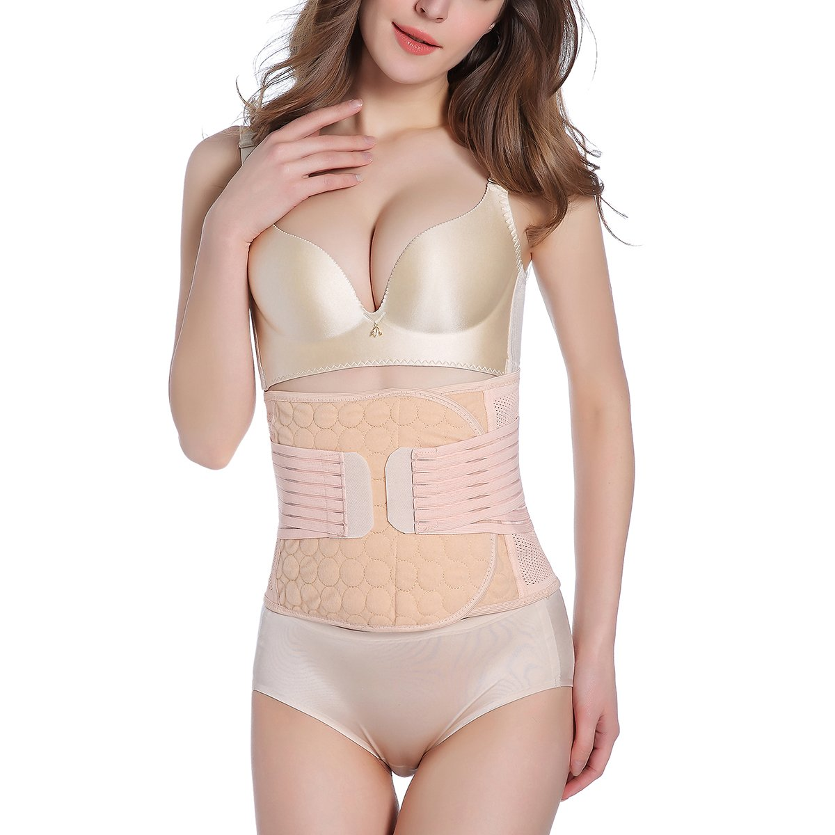 Postpartum Support - Recovery Belly/Waist/Pelvis Belt Shapewear - Post Belly Band Postpartum C Section Recovery Belt Girdle Belly Binder She-Lin