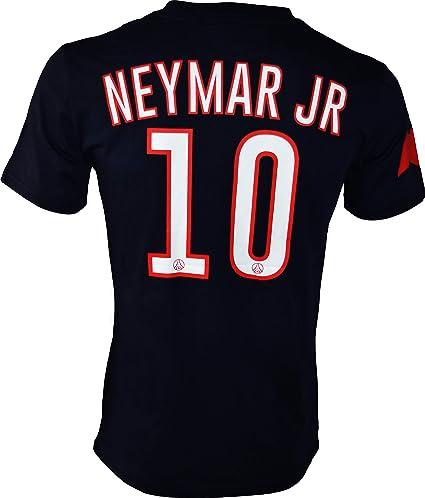 bd75b6050 Paris Saint Germain PSG - Neymar Jr - Camiseta Oficial  Amazon.es ...