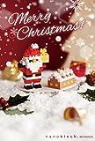 ナノブロック クリスマスカード 2018 サンタとちいさいお家 B NP090