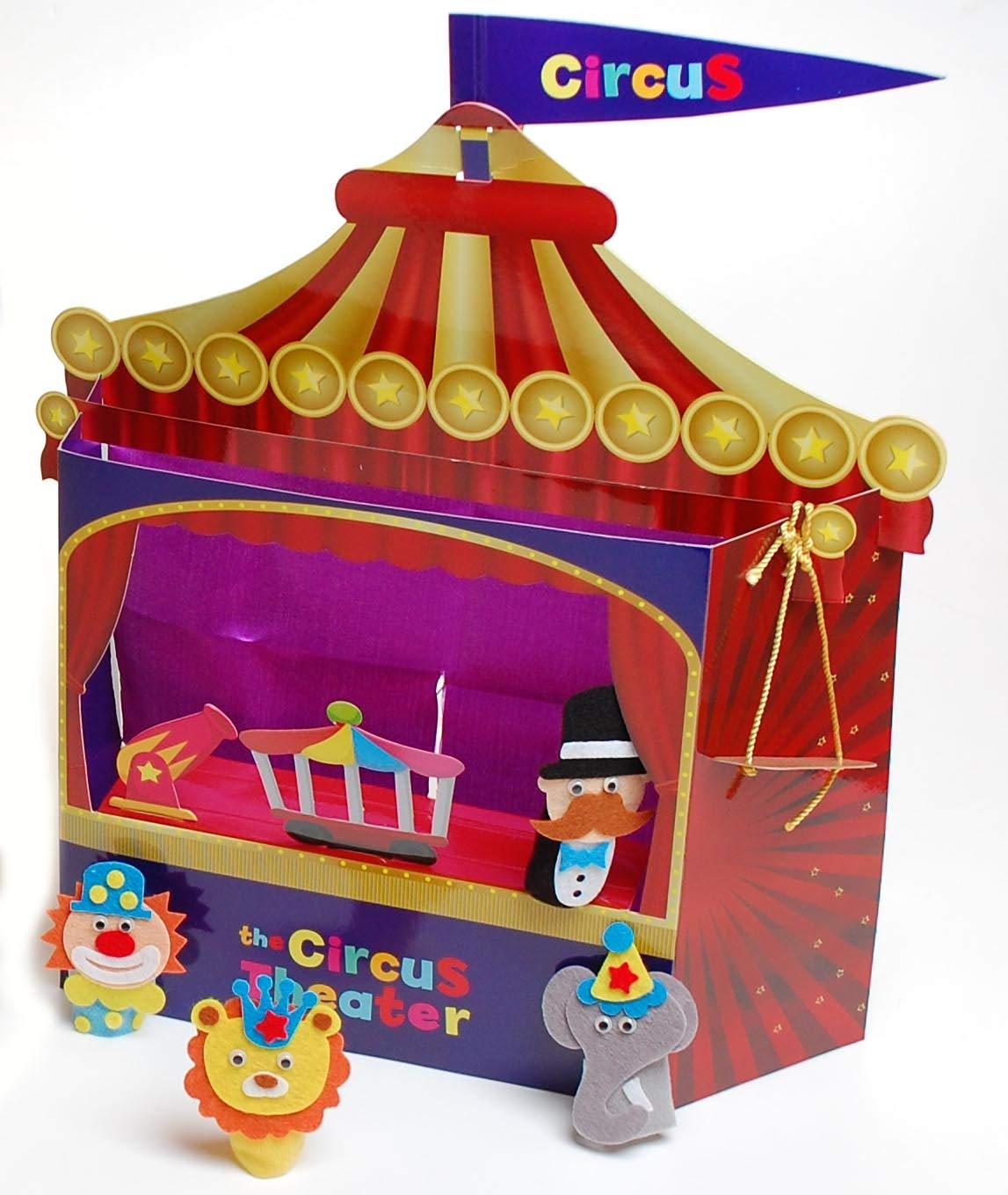 Buy Direct From Us Girls & Boys - Finger Puppet Circus Theatre Incredible Deals